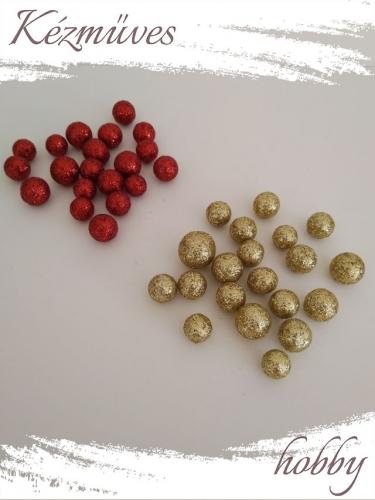 Quilling ajándék - Bogyók - Kellékek - Csillámos bogyó - Karácsonyi kellékek