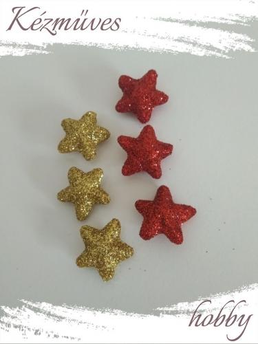 Quilling ajándék - Csillag, hópihe - Kellékek - Csillogó csillag - Karácsonyi kellékek