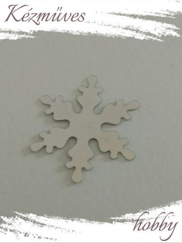 Quilling ajándék - Csillag, hópihe - Kellékek - Ezüst hópehely - Karácsonyi kellékek