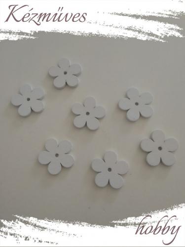 Quilling ajándék - Lézer vágott fa táblák - Kellékek - Fehér virág - Lézer vágott fa táblák