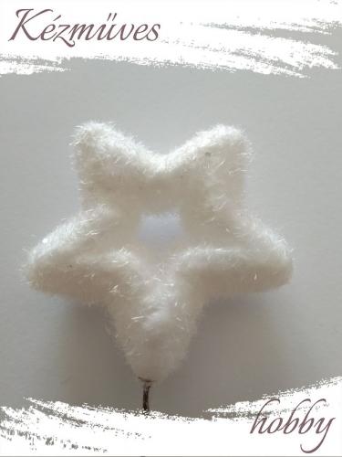 Quilling ajándék - Csillag, hópihe - Kellékek - Havas csillag - Karácsonyi kellékek