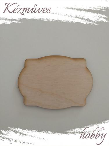 Quilling ajándék - Lézer vágott fa táblák - Kellékek - Különleges forma 4 - Lézer vágott fa táblák