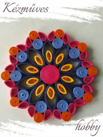 Quilling ajándék -  - Mandala