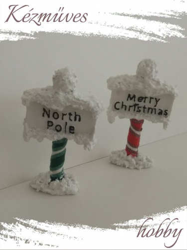 Quilling ajándék - Figurák - Kellékek - Merry Christmas tábla - Karácsonyi Kellékek