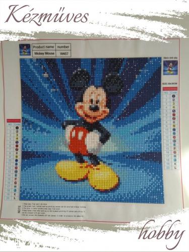 Quilling ajándék - Gyémántfestés - Mickey egér - Gyémántfestés