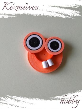 Quilling ajándék - Vicces - Hűtőmágnes - Neon Vicces hűtőmágnes - Quilling hűtőmágnes