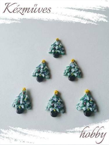 Quilling ajándék - Figurák - Kellékek - Pici karácsonyfa - Karácsonyi kellékek