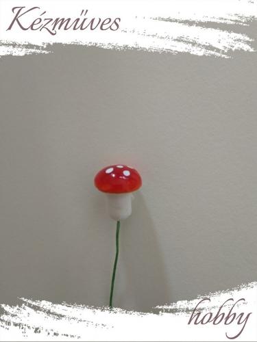 Quilling ajándék - Gombák - Kellékek - Piros gomba (kicsi) - Karácsonyi kellékek