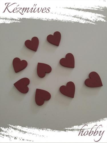 Quilling ajándék - Lézer vágott fa táblák - Kellékek - Piros szív - Lézer vágott fa táblák