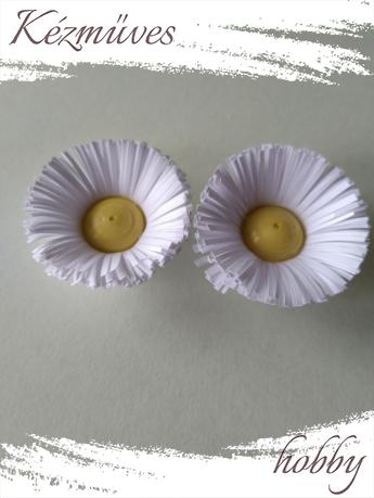 Quilling ajándék - Virágfejek - Szimpla - virágfejek