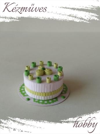 Quilling ajándék - Torták - Torták