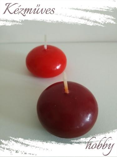 Quilling ajándék - Gyertyák - Kellékek - Úszó gyertya