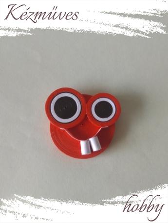 Quilling ajándék - Vicces - Hűtőmágnes - Vicces hűtőmágnes - Quilling hűtőmágnes