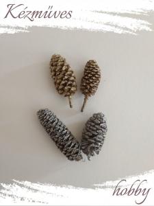 Quilling ajándék - Termések - Kellékek - Birch Pine termés - Karácsonyi kellékek