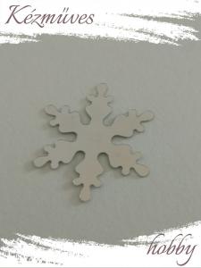 Quilling ajándék - Kellékek - Ezüst hópehely - Karácsonyi kellékek