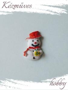 Quilling ajándék - Kellékek - Hóember - Karácsonyi kellékek