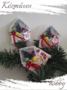 Quilling ajándék - Karácsonyi üdvözlőkártyák - Karácsonyi dekor bíríték  - Karácsonyi Üdvözlőkártyák