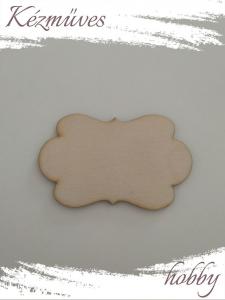 Quilling ajándék - Kellékek - Különleges forma 2 - Lézer vágott fa táblák