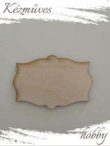 Quilling ajándék - Lézer vágott fa táblák - Kellékek - Különleges forma 3 - Lézer vágott fa táblák