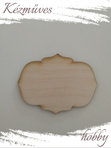 Quilling ajándék - Lézer vágott fa táblák - Kellékek - Különleges forma 5 - Lézer vágott fa táblák