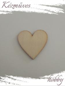 Quilling ajándék - Lézer vágott fa táblák - Kellékek - Natúr szív tábla - Lézer vágott fa táblák