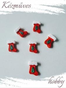 Quilling ajándék - Figurák - Kellékek - Piros csizma - Karácsonyi kellékek
