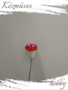 Quilling ajándék - Kellékek - Piros gomba (kicsi) - Karácsonyi kellékek