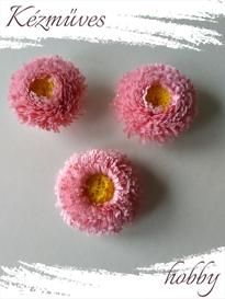 Quilling ajándék - Virágfejek - Százszorszép - virágfejek